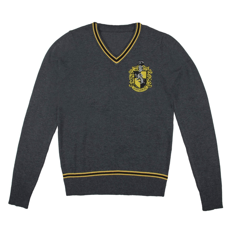PULL POUFSOUFFLE AVEC ÉCUSSON BRODÉ - HARRY POTTER