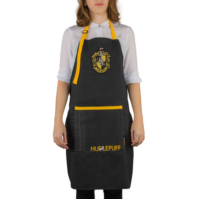 Tablier de cuisine Poufsouffle - Harry Potter - la boutique du sorcier