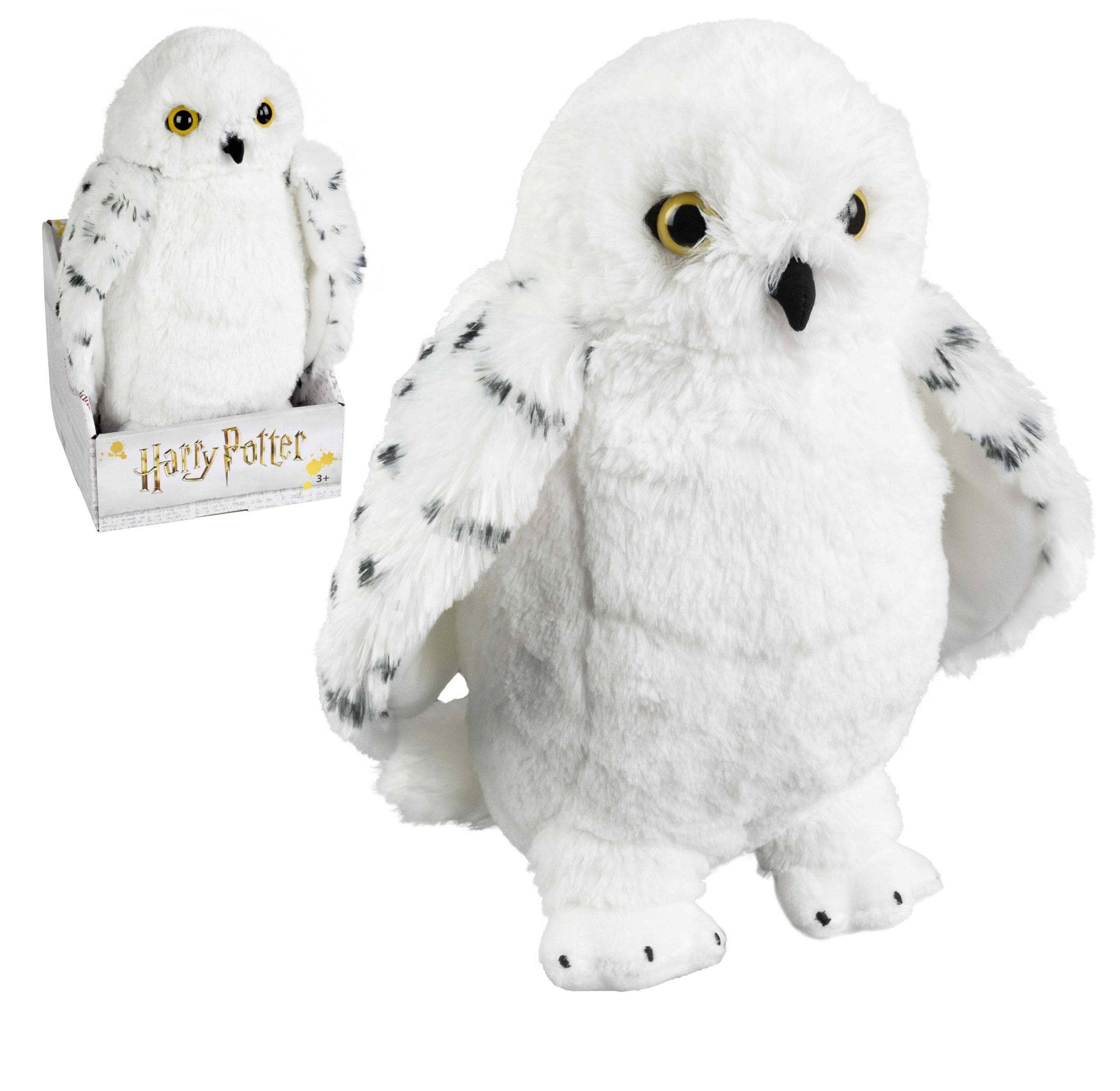 PELUCHE HEDWIGE 29cm - HARRY POTTER - la boutique du sorcier