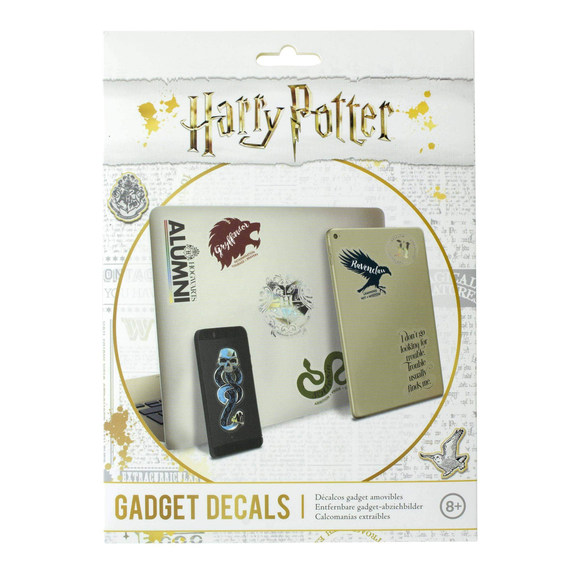 LOT DE 27 STICKERS VYNILE SLOGAN - HARRY POTTER