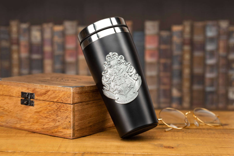 MUG DE VOYAGE METAL POUDLARD (450 ML) - HARRY POTTER