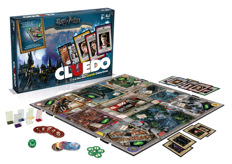 CLUEDO HARRY POTTER (JEU DE PLATEAU) - HARRY POTTER - la boutique du sorcier