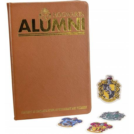 CARNET A5 PREMIUM ALUMNI + 4 AUTOCOLLANTS - HARRY POTTER - la boutique du sorcier