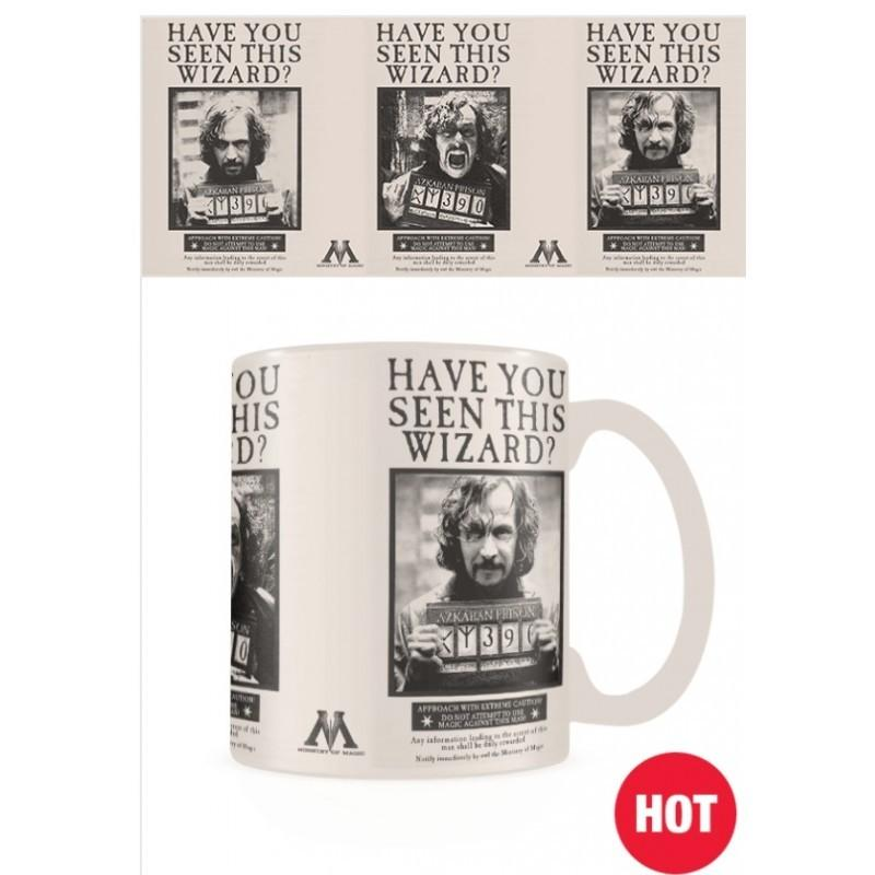 MUG THERMORÉACTIF WANTED SIRIUS BLACK - HARRY POTTER