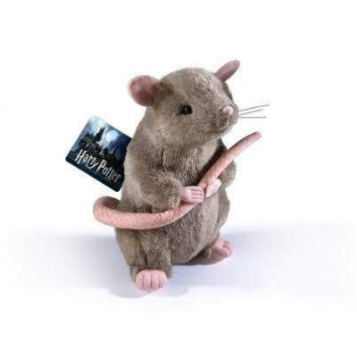 GRANDE PELUCHE CROUTARD LE RAT - HARRY POTTER