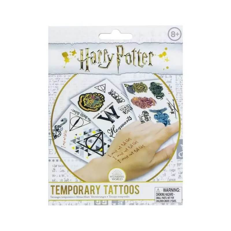 LOT TATOUAGES TEMPORAIRES - HARRY POTTER