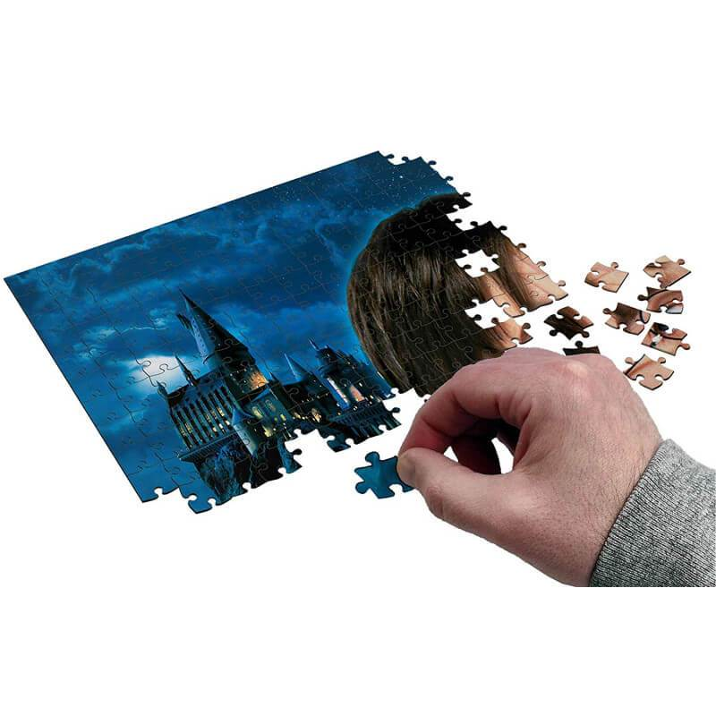 PUZZLE AFFICHE HARRY POTTER ET LA PIERRE PHILOSOPHALE (1000 pièces) - HARRY POTTER - la boutique du sorcier