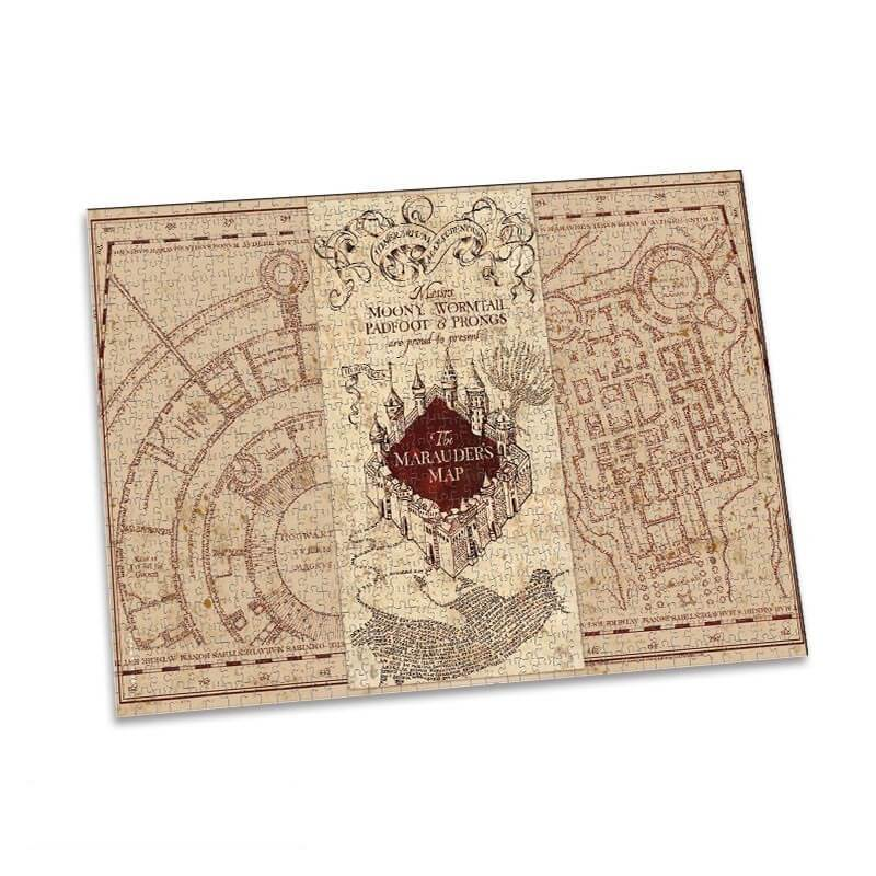 PUZZLE CARTE DU MARAUDEUR (1000 PIÈCES) - HARRY POTTER