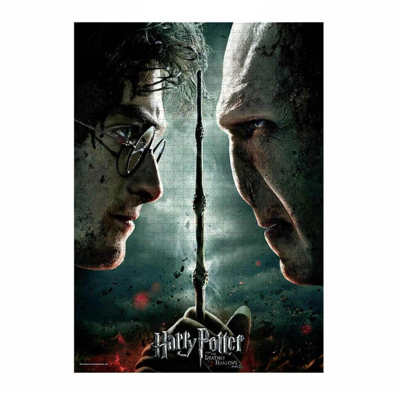 PUZZLE AFFICHE HARRY POTTER VS VOLDEMORT (1000 PIÈCES) - HARRY POTTER - la boutique du sorcier