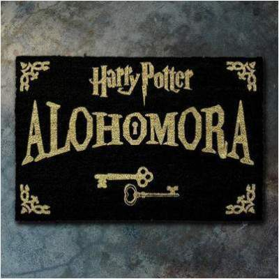 TAPIS NOIR ALOHOMORA - HARRY POTTER La Boutique du Sorcier - Wizard Shop
