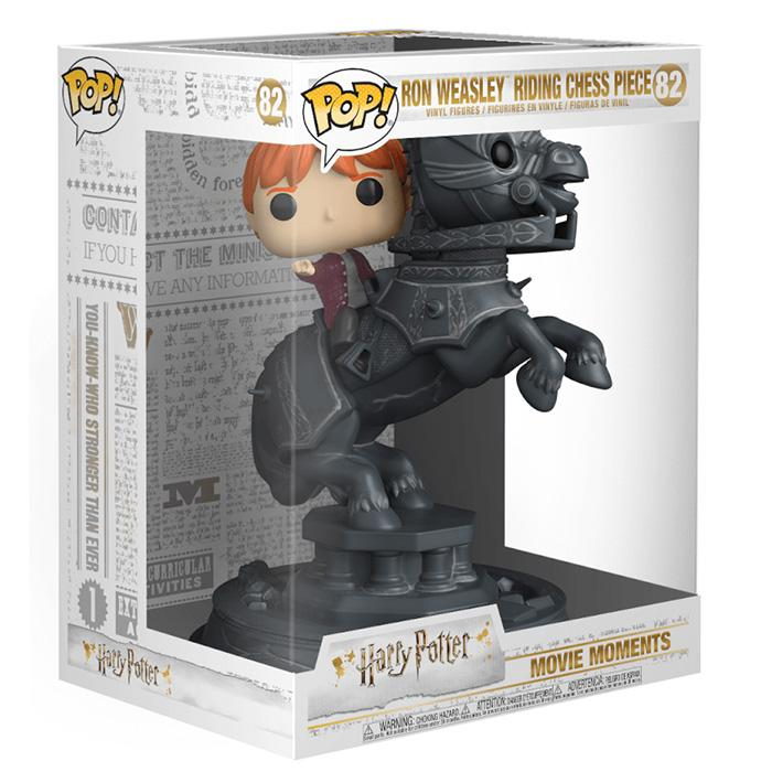 FIGURINE POP RON CAVALIER - HARRY POTTER