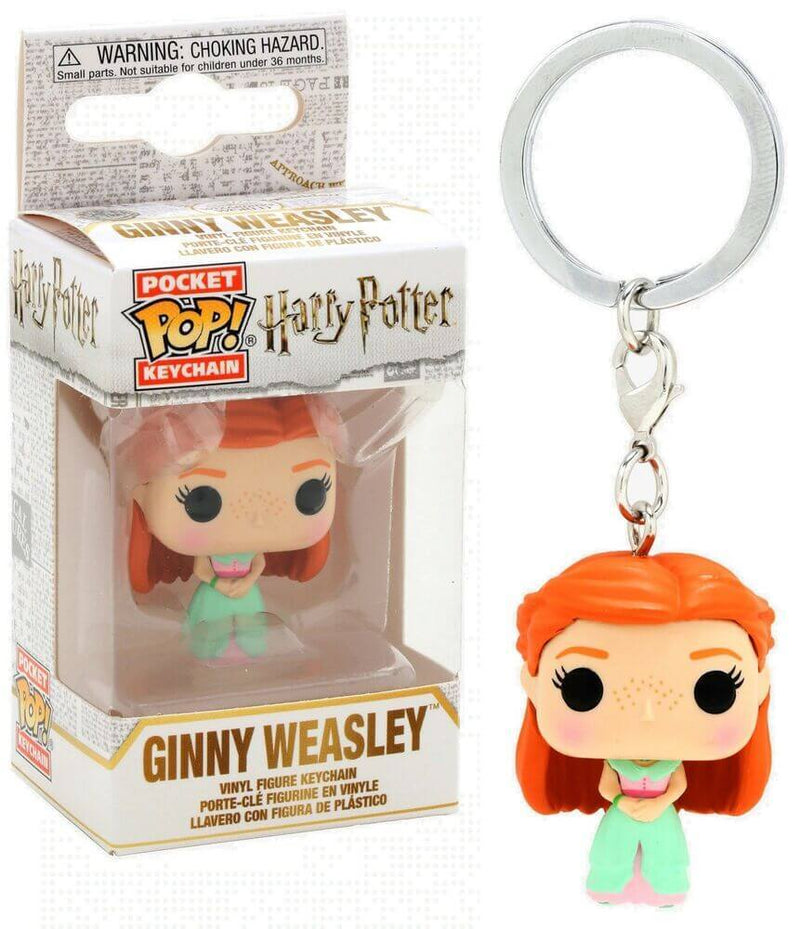 porte clés pocket funko pop ginny weasley bal harry potter