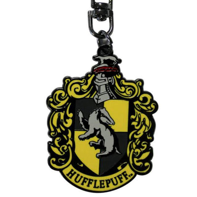 PORTE-CLÉS METALLIQUE POUFSOUFFLE - HARRY POTTER - la boutique du sorcier