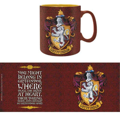 MUG GRYFFONDOR 460 ML - HARRY POTTER - la boutique du sorcier