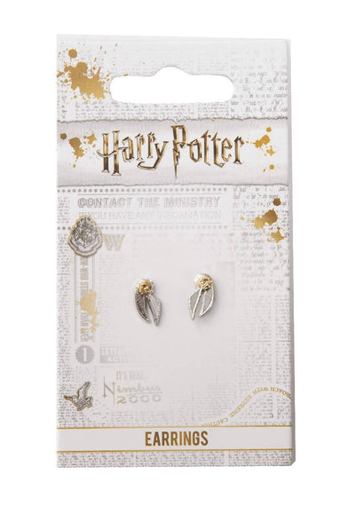 BOUCLES D'OREILLES VIF D'OR - HARRY POTTER - la boutique du sorcier