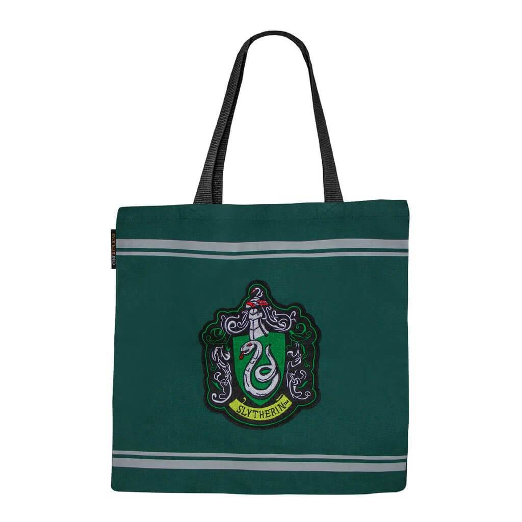 SAC EN TOILE SERPENTARD - HARRY POTTER - la boutique du sorcier