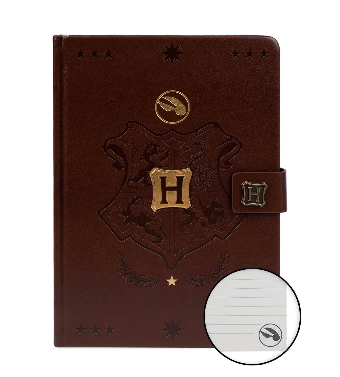 CARNET A5 PREMIUM QUIDDITCH - HARRY POTTER - la boutique du sorcier
