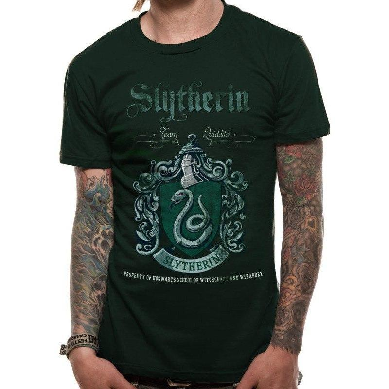 T-SHIRT SERPENTARD - HARRY POTTER - la boutique du sorcier