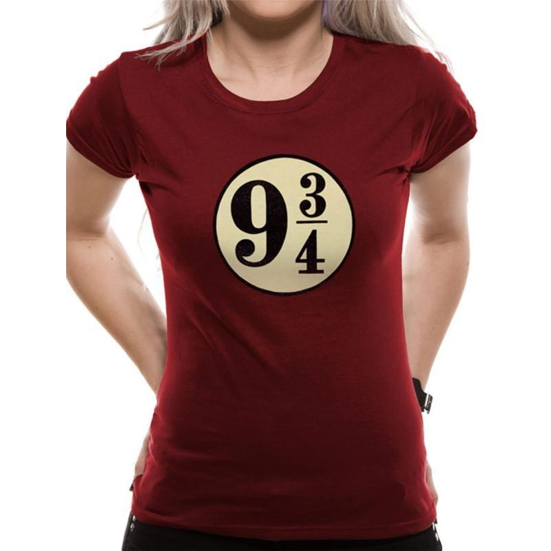 T-SHIRT FEMME POUDLARD EXPRESS VOIE 9 3/4 - HARRY POTTER