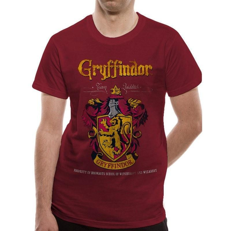 T-SHIRT GRYFFONDOR - HARRY POTTER