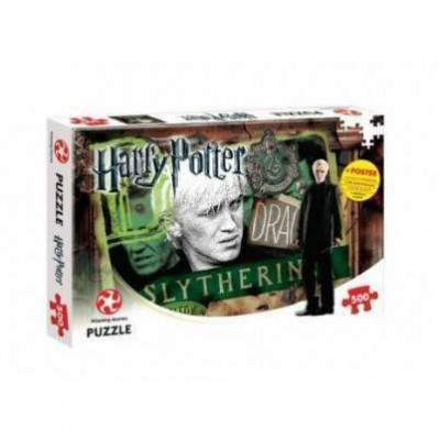 PUZZLE SERPENTARD - HARRY POTTER
