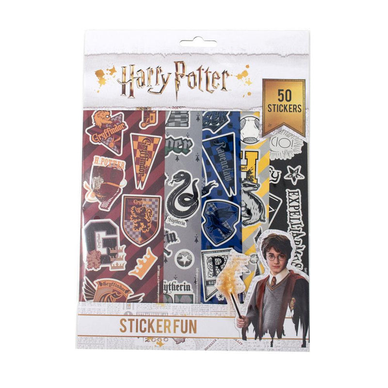 LOT DE 50 STICKERS - HARRY POTTER - la boutique du sorcier