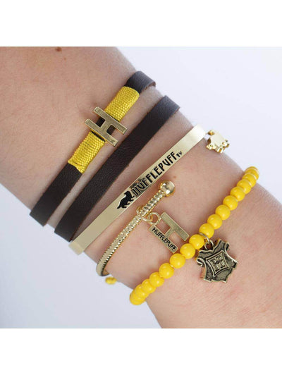 BRACELET ARM PARTY SYMBOLES POUFSOUFFLE - HARRY POTTER - la boutique du sorcier