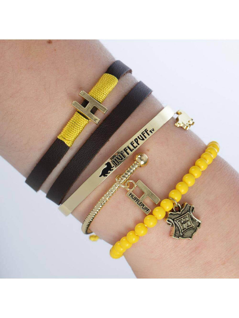 BRACELET ARM PARTY SYMBOLES POUFSOUFFLE - HARRY POTTER