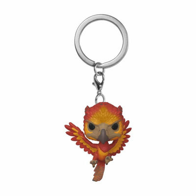 porte clé funko pop phenix fumseck harry potter