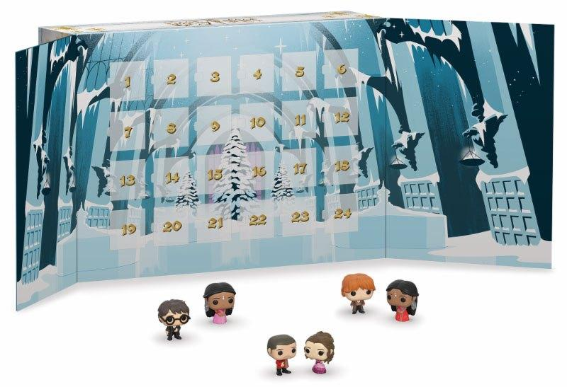 CALENDRIER DE L'AVENT FUNKO POP HARRY POTTER 2019 - 24 PIÈCES - EDITION LIMITÉE - La boutique du sorcier Harry potter wizard shop wizarding world shop
