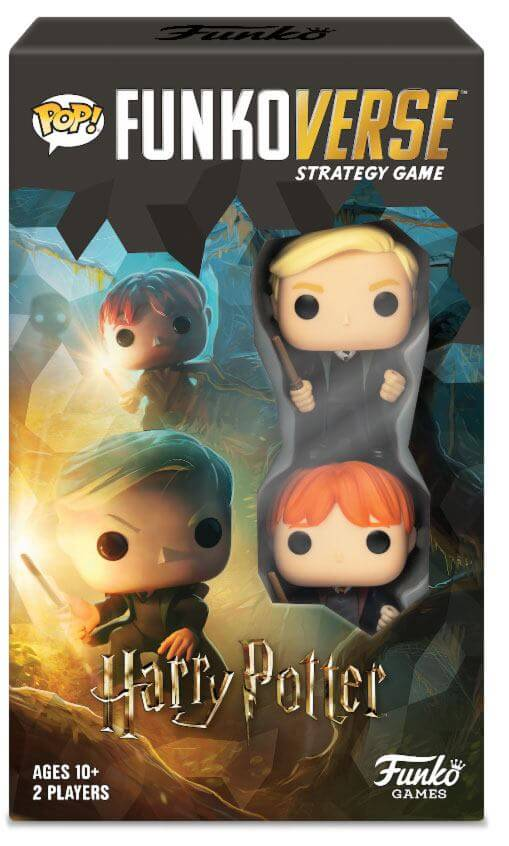 FUNKOVERSE HARRY POTTER (EXTENSION DU JEU DE BASE) - HARRY POTTER - la boutique du sorcier