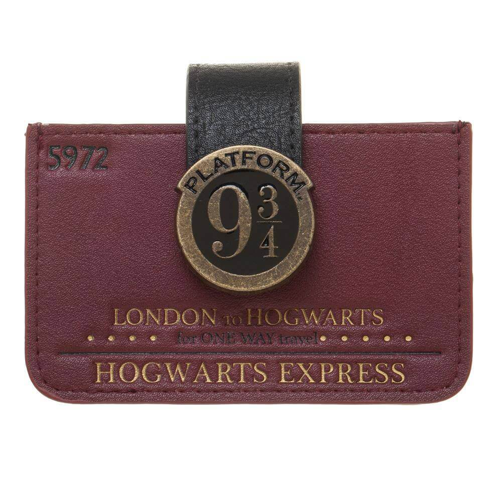 porte cartes quai 9 3/4 - harry potter boutique du sorcier
