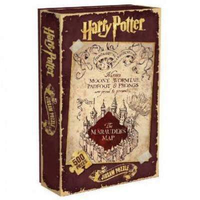 PUZZLE CARTE DU MARAUDEUR (500 pièces) - HARRY POTTER