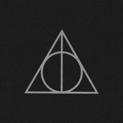 FOULARD DEATHLY HALLOWS - HARRY POTTER La Boutique du Sorcier - Wizard Shop