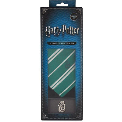 CRAVATE SERPENTARD - HARRY POTTER La Boutique du Sorcier - Wizard Shop