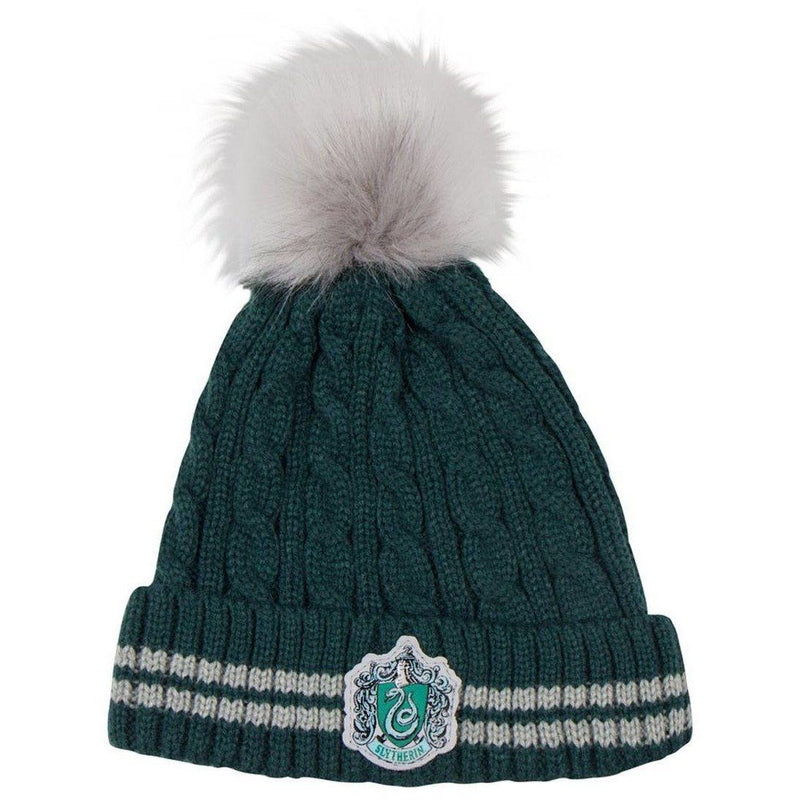 BONNET POMPON  SERPENTARD -  HARRY POTTER