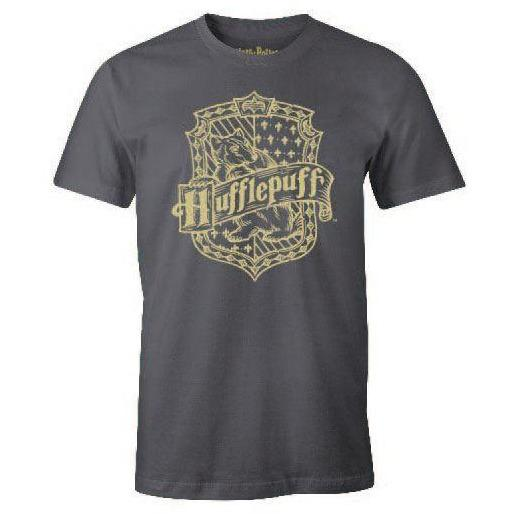 T-SHIRT BLASON POUFSOUFFLE - HARRY POTTER