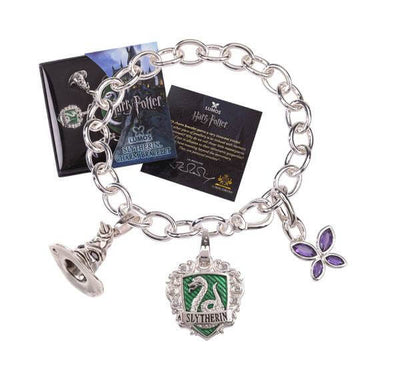 BRACELET CHARMS LUMOS SERPENTARD - HARRY POTTER la boutique du sorcier