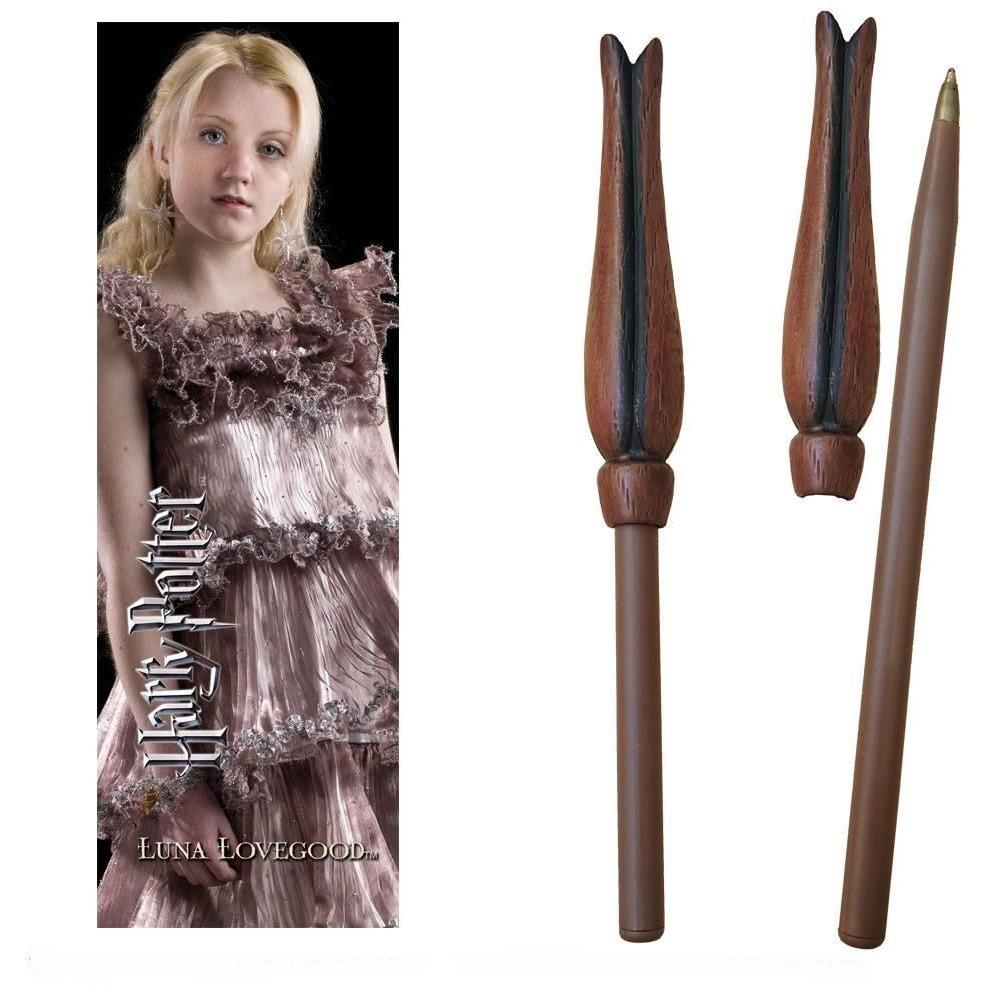 STYLO BAGUETTE & MARQUE-PAGE LUNA LOVEGOOD - HARRY POTTER