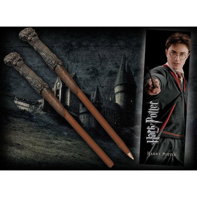 STYLO BAGUETTE & MARQUE-PAGE HARRY - HARRY POTTER