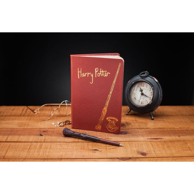CAHIER & STYLO BAGUETTE HARRY POTTER