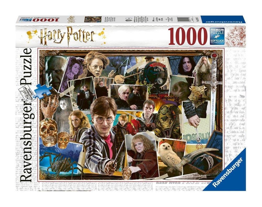 PUZZLE HARRY POTTER (1000 pièces) - HARRY POTTER