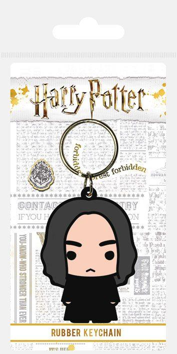 PORTE-CLÉS CAOUTCHOUC CHIBI SEVERUS ROGUE - HARRY POTTER