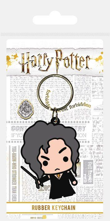 PORTE-CLÉS CAOUTCHOUC CHIBI BELLATRIX - HARRY POTTER