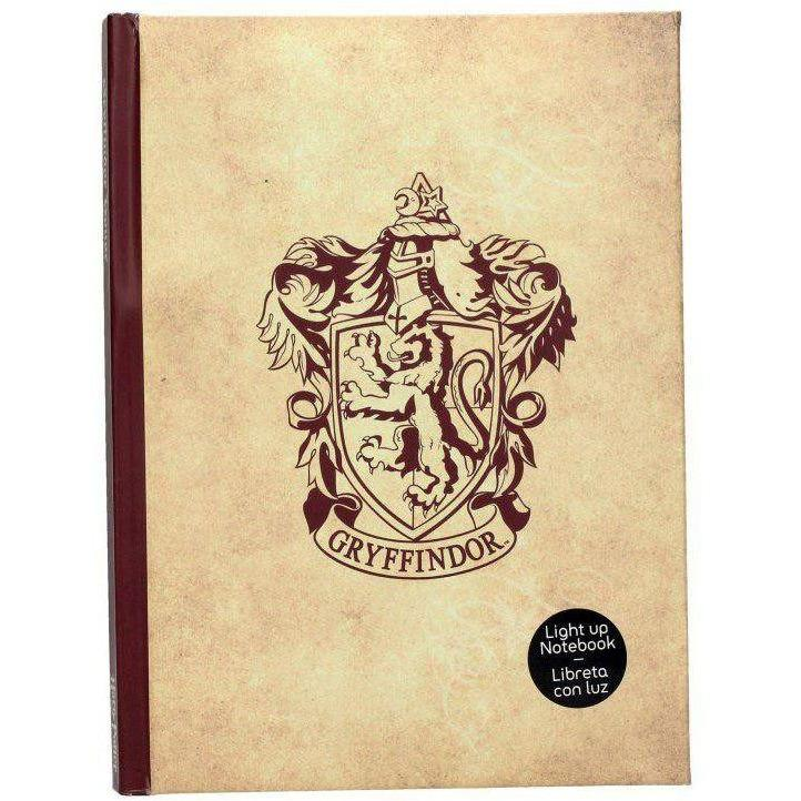 CARNET COLLECTOR LUMINEUX GRYFFONDOR - HARRY POTTER