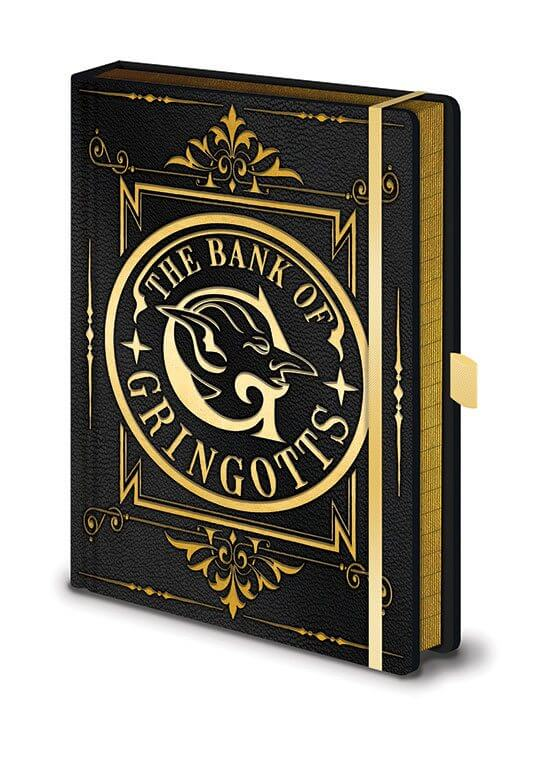 CARNET DE NOTE GRINGOTTS PREMIUM - HARRY POTTER