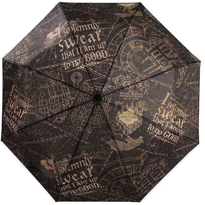 PARAPLUIE CARTE DU MARAUDEUR - HARRY POTTER - la boutique du sorcier