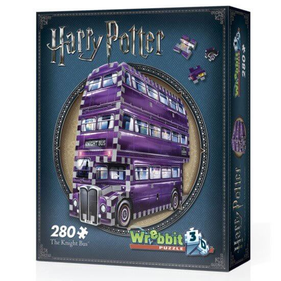 PUZZLE 3D MAGICOBUS (THE KNIGHT BUS) HARRY POTTER - 280 pcs