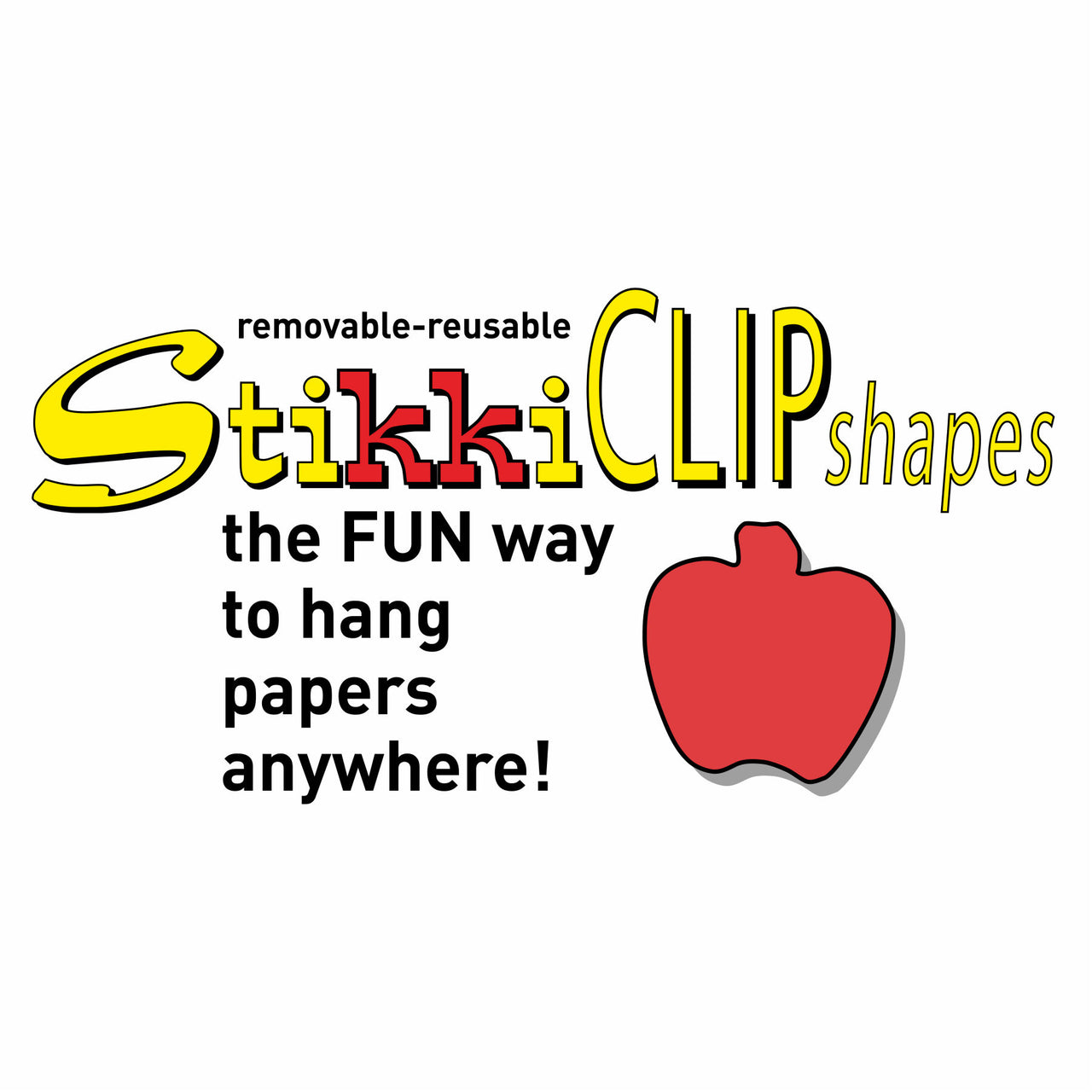 StikkiCLIP SHAPES