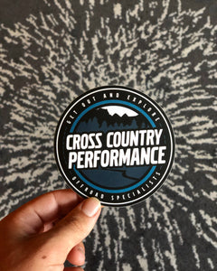 CCP Classic Logo Sticker - Cross Country Performance